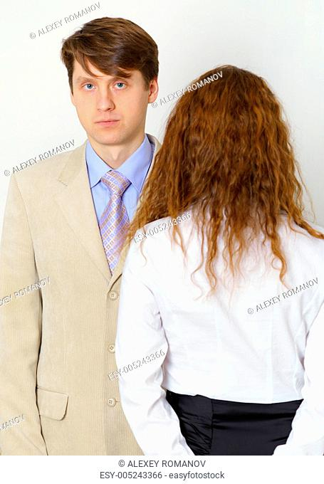 Strained relations between husband and wife