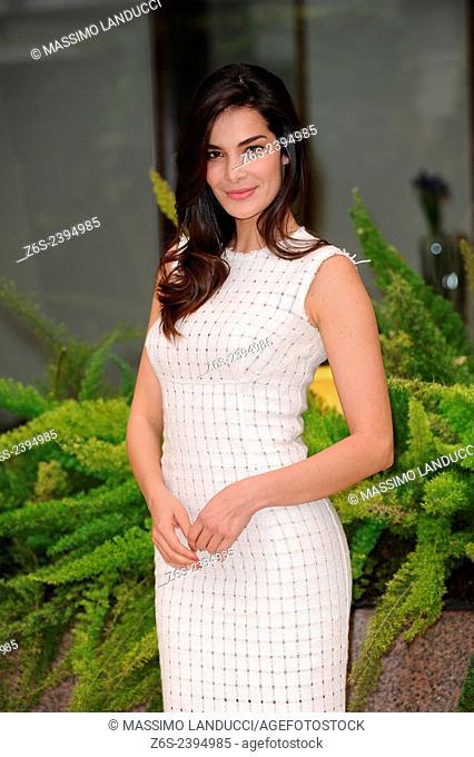 Ilaria Spada; Spada; actress; celebrities; 2015;rome; italy;event; photocall; se Dio vuole