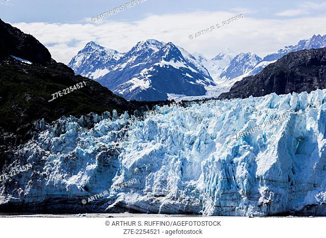 Close-up of Margerie Glacier, Glacier Bay, Alaska