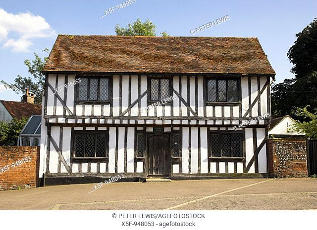Lavenham Suffolk one of the most outstanding Villages in East Anglia, its appearance has hardly changed since its heyday as an impotant Wool Town in the 14th...