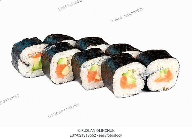 sushi fresh maki rolls