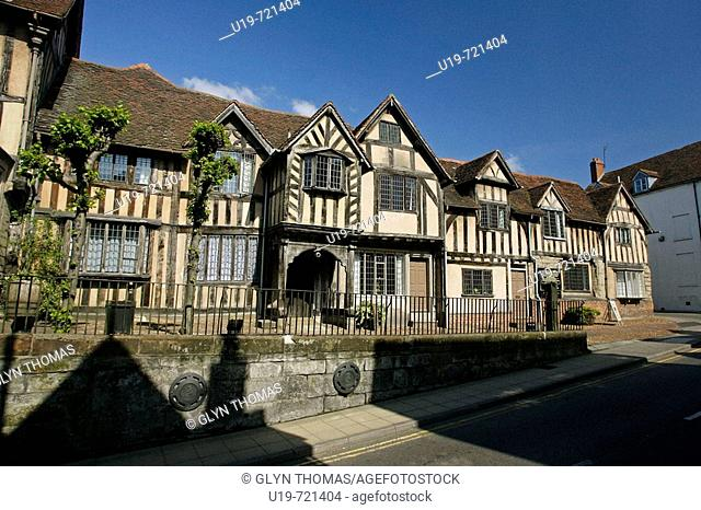Lord Leycester Hospital Warwick Warwickshire England UK