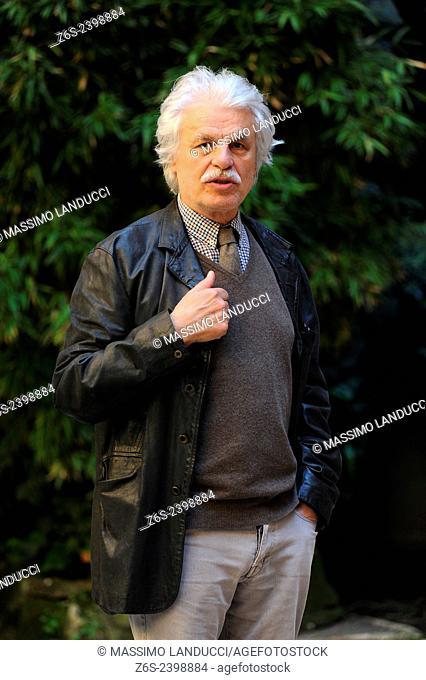 Michele Placido; Placido; actor and director; celebrities; 2015;rome; italy;event; photocall; la scelta