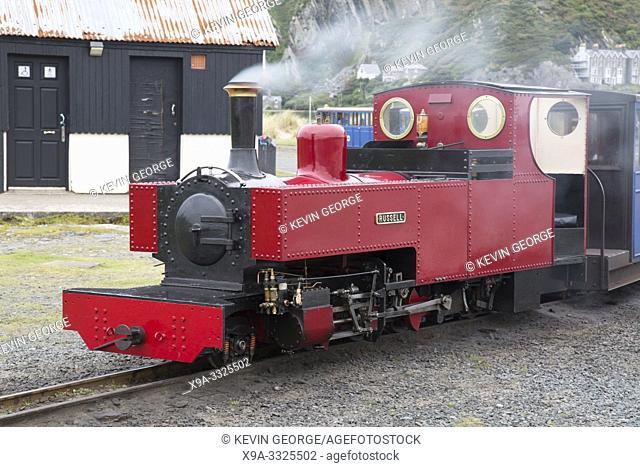 Fairbourne Steam Railway; Barnmouth; Wales; UK