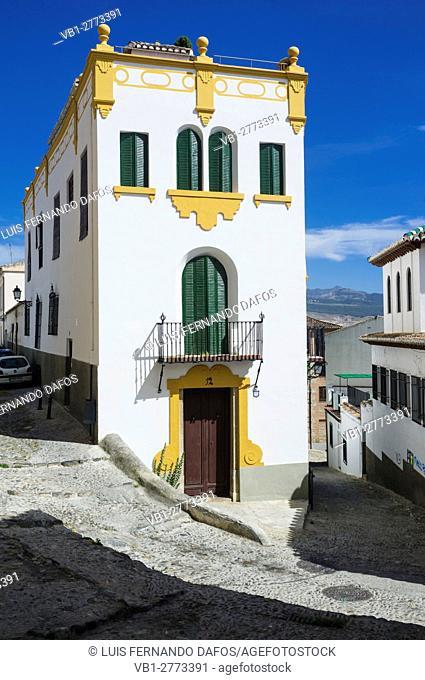 Realejo quarter, Granada, Andalusia, Spain
