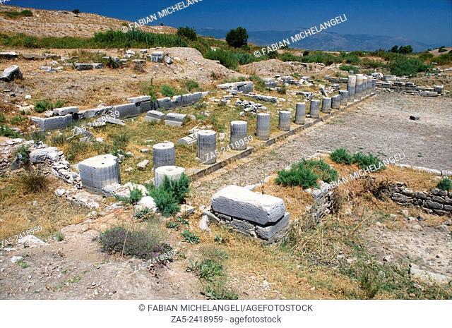 North Agora at Miletos. Anatolia, Turkey