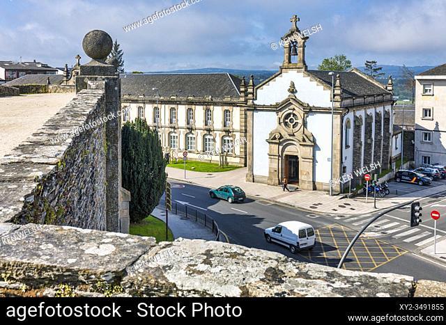 Capela de Santa Maria, Lugo, Lugo Province, Galicia, Spain