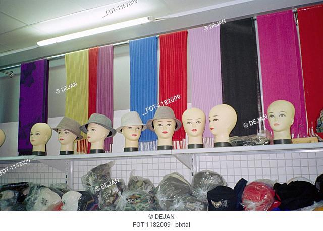 Storage for clothes shop