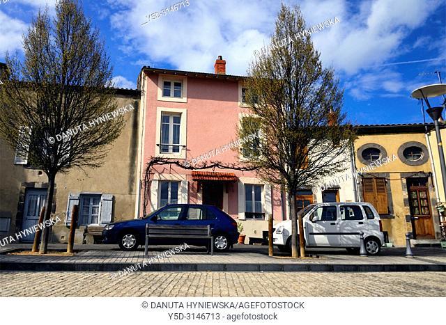 Place Marcel Sembat, old town of Montferrand - district of Clermont-Ferrand, Clermont-Ferrand, Puy-de-Dôme, Auvergne, Auvergne-Rhône-Alpes, France, Europe