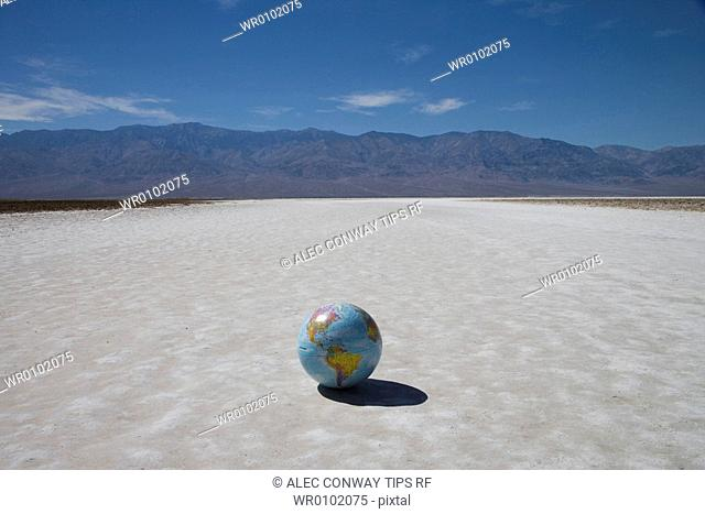 USA, California, Death Valley National Park, Badwater point