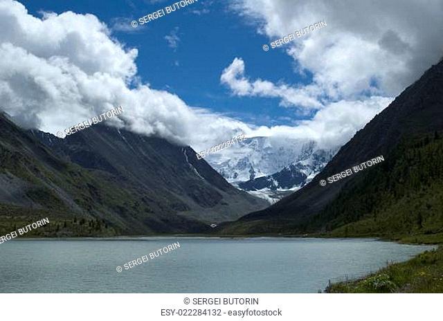belukha the highest peak of Altai