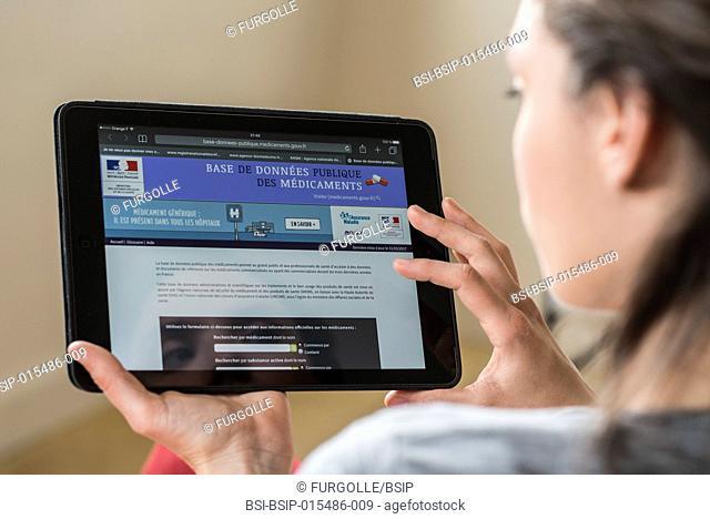 French national drug information website
