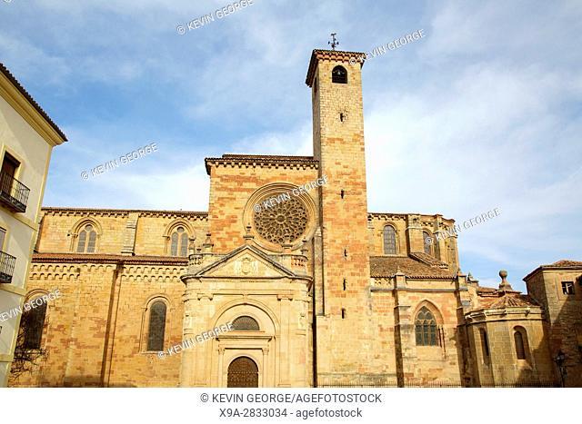 Cathedral Church in Siguenza; Guadalajara; Spain