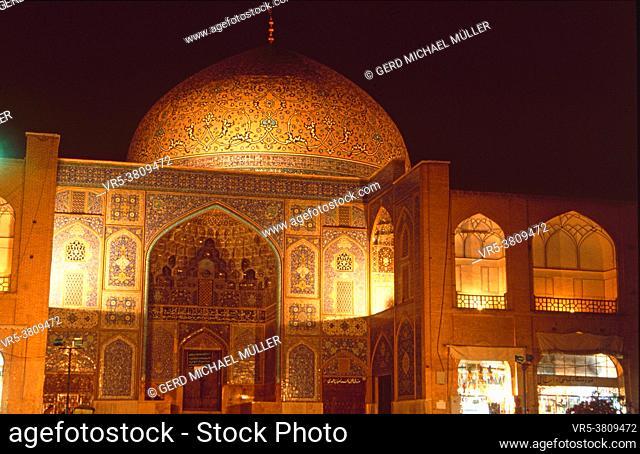 Iran: Die Masjed-Emam Moschee in Isfahan
