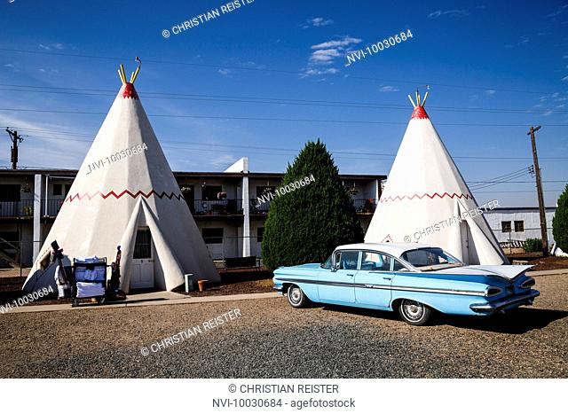 Wigwam Motel, Holbrook, Historic Route 66, Navajo County, Arizona, USA