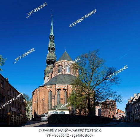 St Peter's Church, Riga, Latvia