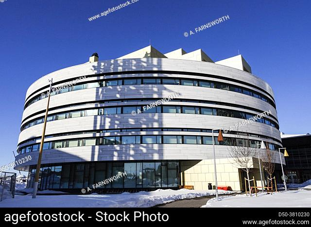 Kiruna, Sweden The development and construction of the new city hall, often called â. œKristallenâ. . (the crystal)