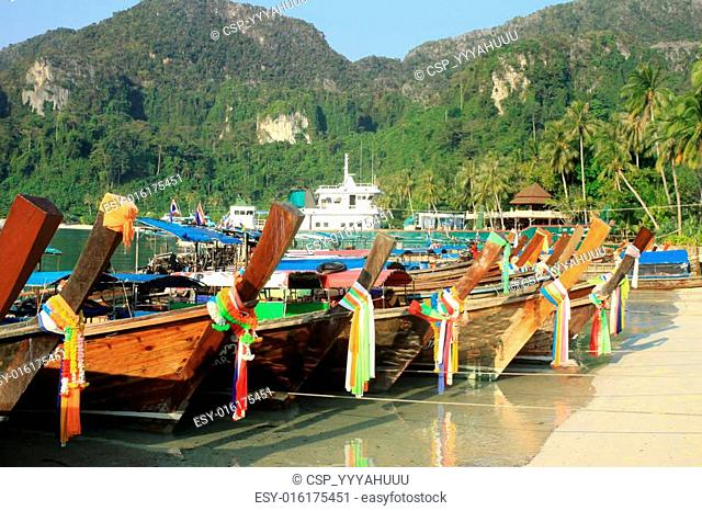Long-boat in Thailand