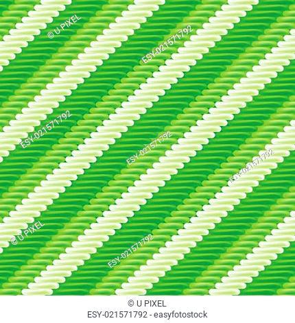 Stoff mit grünem Streifenmuster