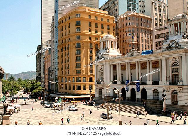 Mahatma Gandhi Square, Rio de Janeiro, Brazil