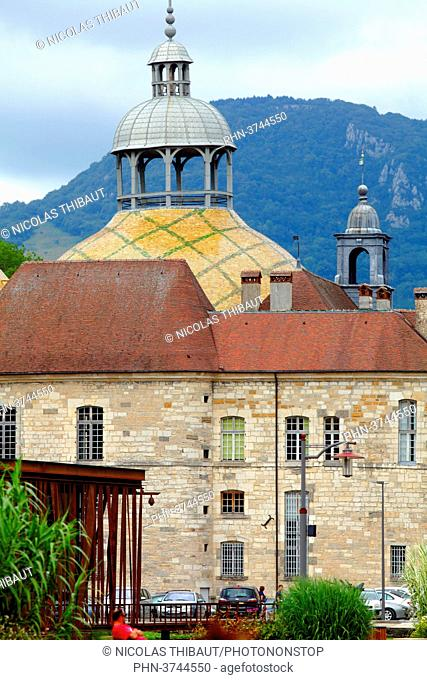 France, Bourgogne Franche Comte, Jura (39), Salins les bains, Notre Dame Liberatrice church
