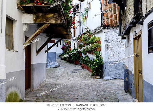 Jewish Quarter in Hervás, Caceres