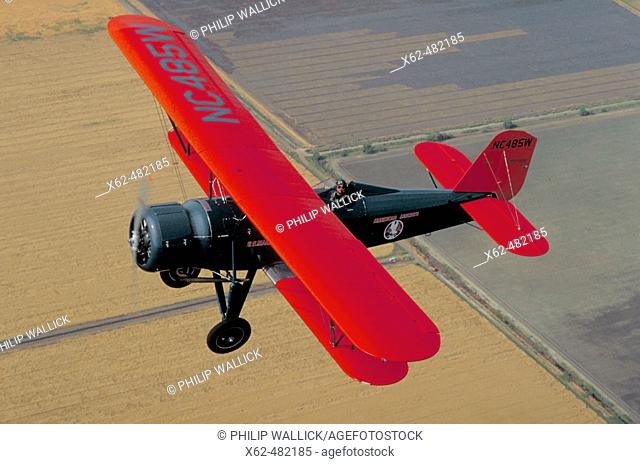 Stearman 4DM biplane