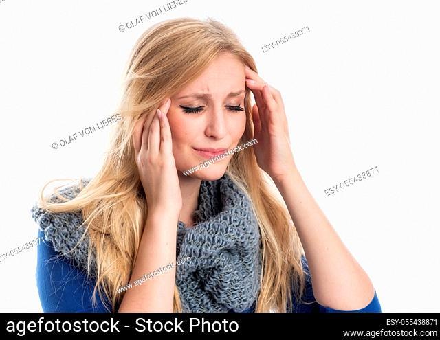 headache, migraine, stress, struggle