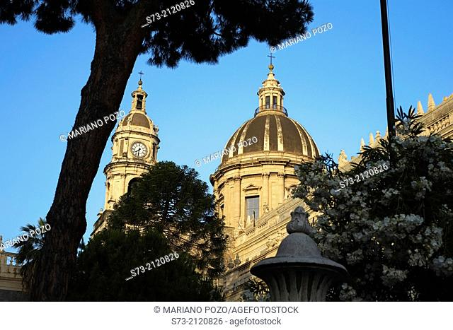 Sant'Agata abbey church, Catania, Sicily, Italy