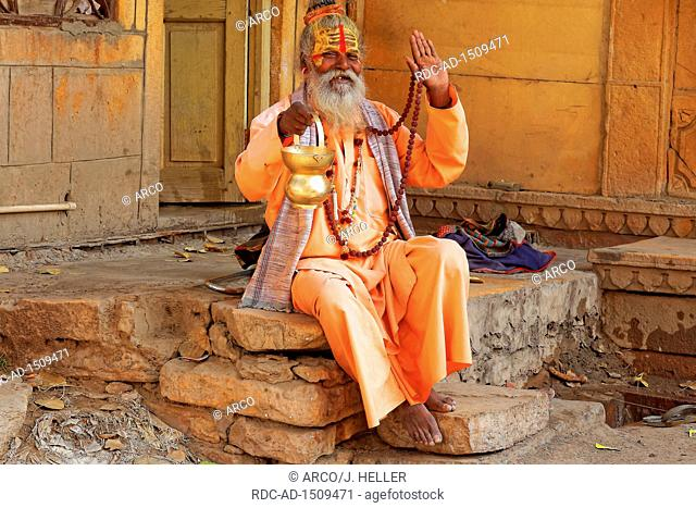 Hindu Sadhu, Jaisalmer, Rajasthan, India