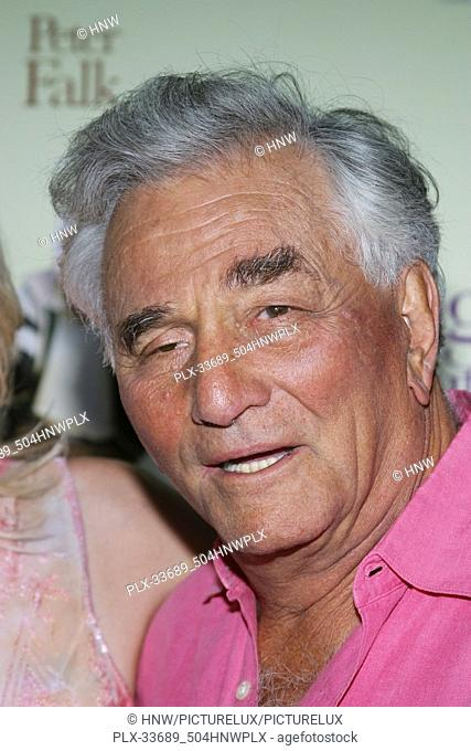 "Peter Falk 09/07/05 """"The Thing About My Folks"""" Premiere  @ Arclight Theatre, Hollywood Photo by Izumi Hasegawa/HNW / PictureLux (September 7"