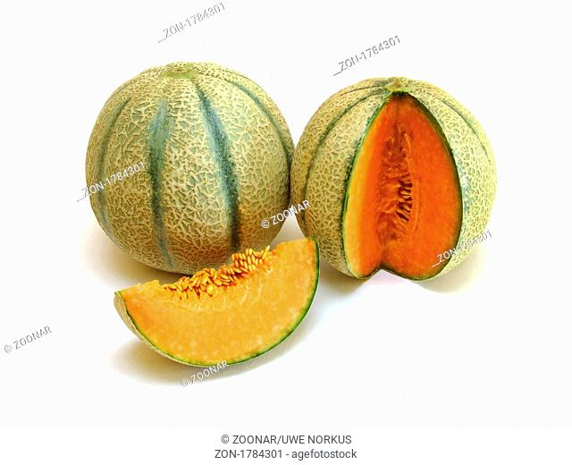 Cantaloupe / melon Cucumis melo cantalupensis