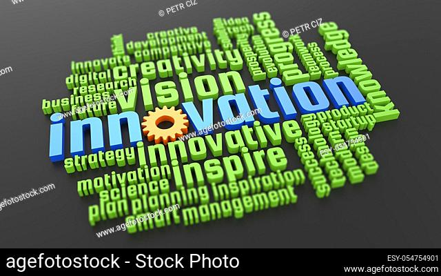 Innovation development and vision creativity in business