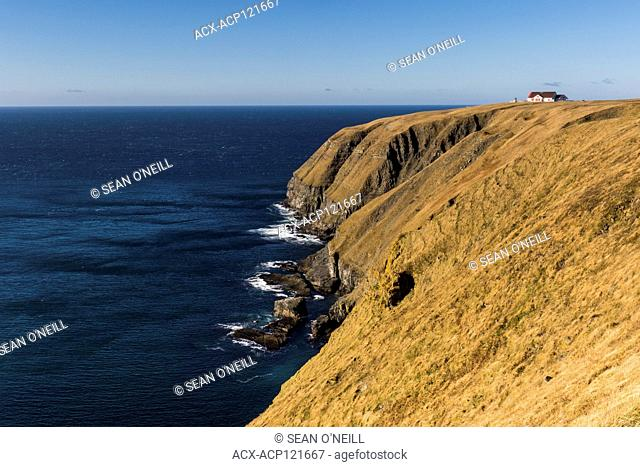 Cape St. Mary's Ecological reserve in the Autumn, after the birds have left for the season, Newfoundland, Canada