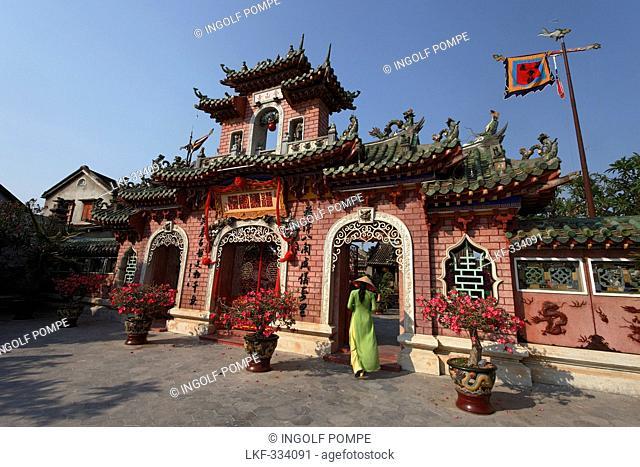 Phuc-Kien-Pagoda, Assembly Hall of the Fujian Chinese Congregation, Hoi An, Annam, Vietnam