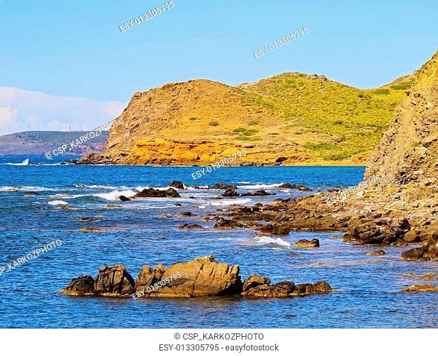 Northern Coastline of Minorca