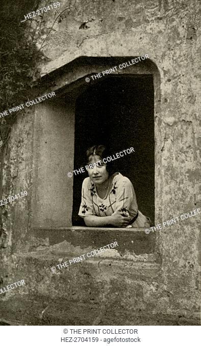 'The Duchess at Bisham Abbey', 1928. Creator: Unknown