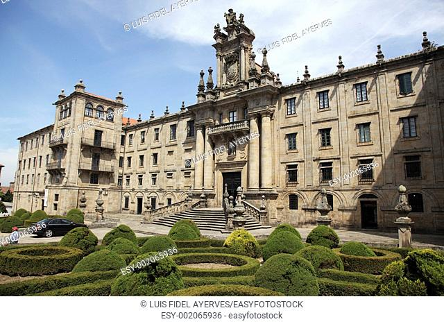 Benedictine monastery of San Martin Pinario 16th-18th century, Santiago de Compostela