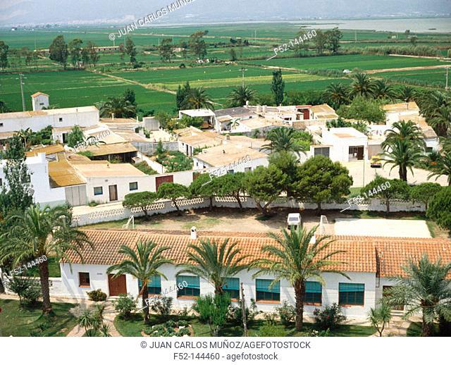 Poblenou del Delta (in Delta del Ebro). Tarragona province. Catalonia, Spain