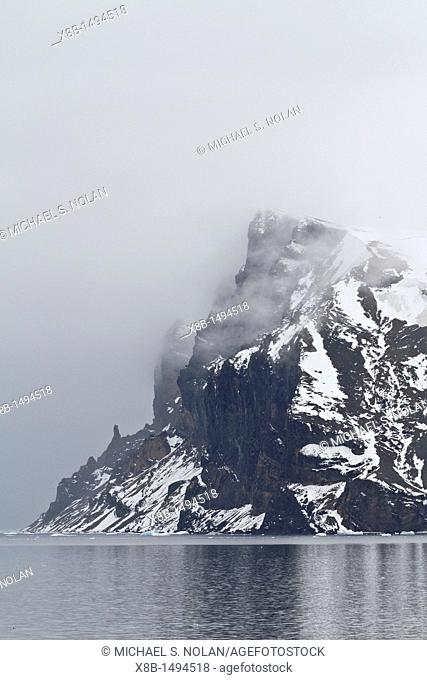 Views of the eastern side of the Antarctic Peninsula in the Weddell Sea, Antarctica  MORE INFO The Weddell Sea is often blocked to ship navigation due to ice...