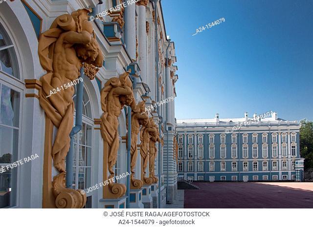 Rusia ,Near San Petersburg City ,Pushkin City, Catherina Palace