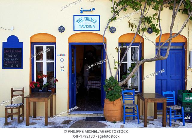Greece, Cyclades islands, Amorgos, Katapola city and port