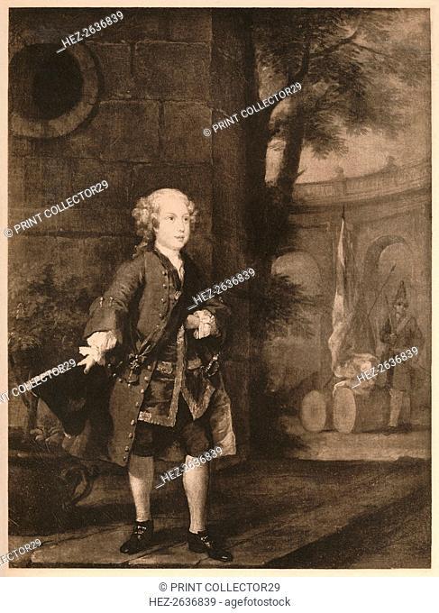 'William Augustus, Duke of Cumberland', 1732. Artist: William Hogarth