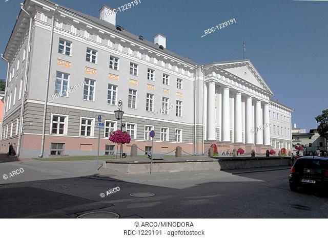 Universitaet, Tartu, ehemalige Hansestadt, Estland, Baltikum, Europa