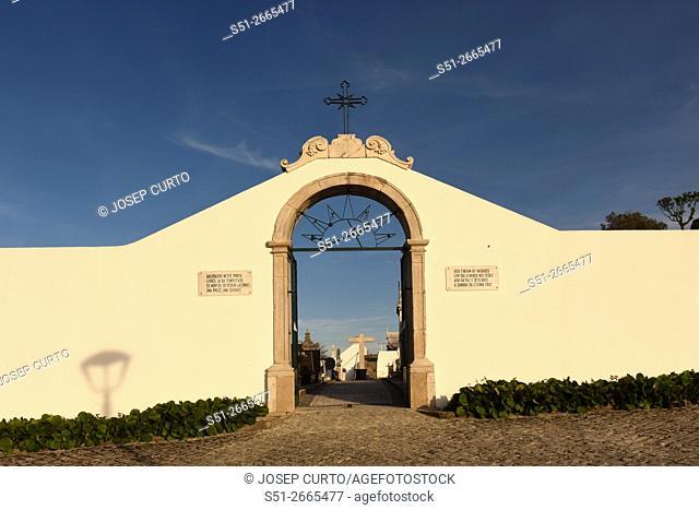 Ourem cemetery gate, Portugal