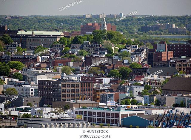 Buildings in a city, Boston, Massachusetts, USA