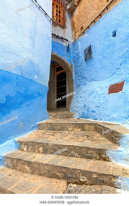 Medina, old town, Chefchaouen, Chaouen, Morocco