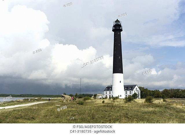 Sõrve Lighthouse. Saaremaa. Estonia