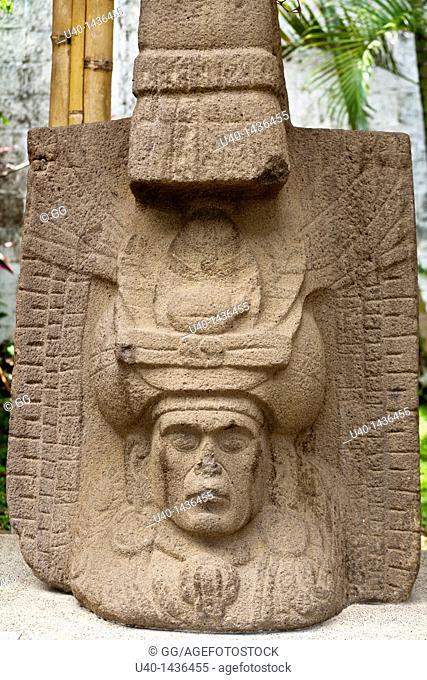 Guatemala, El Baul museum stone carvings
