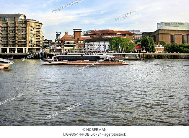Thames Clippers Water Taxi, London